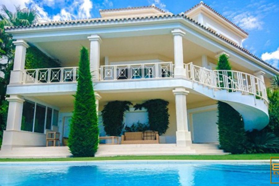 Villa con vistas